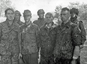 9ss POW Arnhem Waffen SS troopers taken prisoner from 9th SS Reconnaissance Battalion at Arnhem Bridge