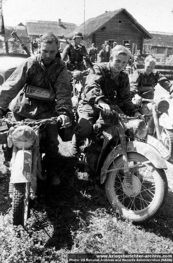Kradschützen Truppen (Motorcycle Troops)