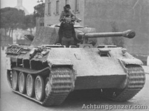 German Panther Mk V Panzer Tank