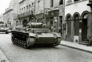 German Panzer MkIII Mk3 Tank