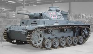German Panzer 3 Tank Panzerkampfwagen III Sd Kfz. 141 PzKpfw III