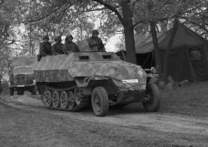 German Wehrmacht Sd Kfz 251 1 Halftrack