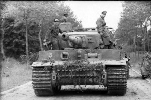 German Tiger Mk 1 Panzer Tank