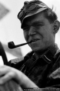 Waffen SS Soldier with Goggles
