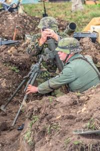 Waffen SS 9th Hohenstaufen Mortar Crew