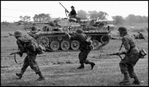 Waffen SS Panzer Mk IV Re-enactors