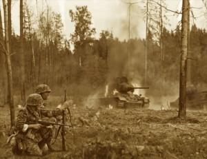 Waffen SS Hohenstaufen Re-enactment Re-enactors