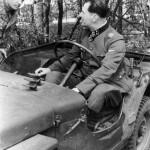 9ss Hohenstaufen Waffen SS Oberführer Walter Harzer Arnhem captured jeep