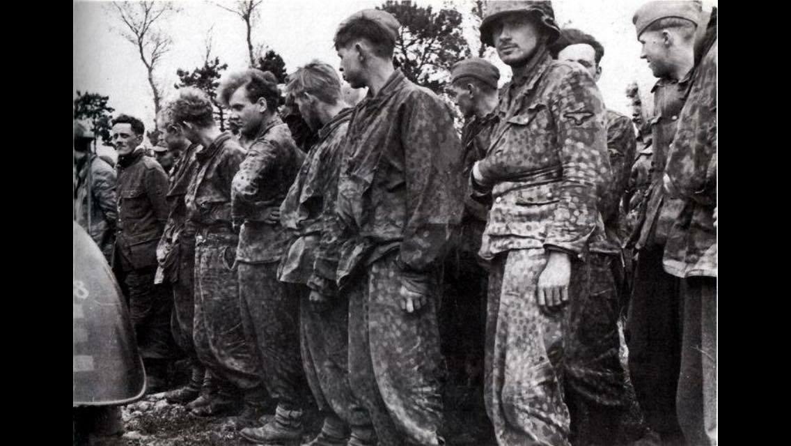 Waffen SS Caps  Hessen Antique